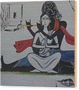 Gopi Bhaava Wood Print