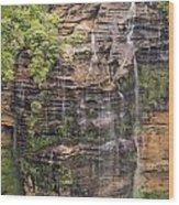 Gordon Falls Wood Print