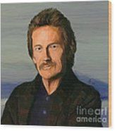 Gordon Lightfoot Wood Print by GCannon
