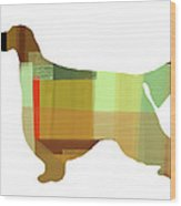 Gordon Setter Wood Print by Naxart Studio