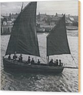 Gordonsrtoun School Seamanship Has An Important Place In Wood Print