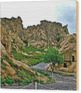 Goreme Open Air Musuem With Six Early Christian Churches In Capp Wood Print