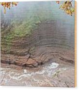 Gorge Wall Wood Print