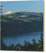 Gorgeous Columbia Gorge Wood Print