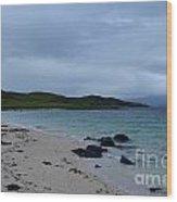 Gorgeous Coral Beach On Skye In Scotland Wood Print