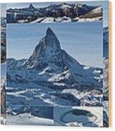 Gorgeous Matterhorn  Wood Print