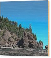 Gorgeous Rock Formations Wood Print