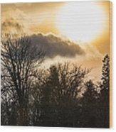 Gorgeous Sky Wood Print