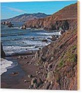 Gorgeous Sonoma Coast Wood Print