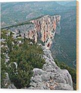 Gorges Du Verdun Wood Print