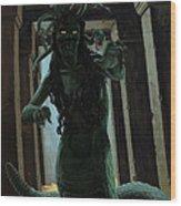 Gorgon Medusa Wood Print