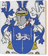 Gorman Coat Of Arms Irish Wood Print