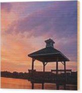 Gorton Pond Beauty Warwick Rhode Island Wood Print