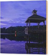 Gorton Pond Rhode Island Wood Print