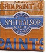 Goshen Paint Company Wood Print