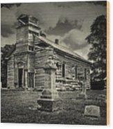 Gospel Center Church II Wood Print