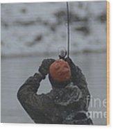 Gotcha   Steelhead Fishing Wood Print