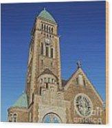 Gothenburg Church 07 Wood Print