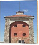 Gothenburg Fortress 07 Wood Print