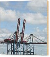 Gothenburg Harbour 08 Wood Print