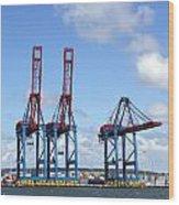 Gothenburg Harbour 12 Wood Print