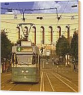 Gothenburg Tram 04 Wood Print