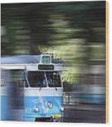 Gothenburg Tram 05 Wood Print