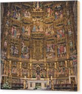 Gothic Altar Screen Wood Print