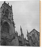 Gothic Appearance Wood Print