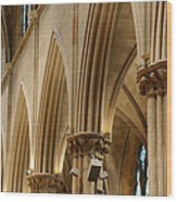 Gothic Arches II Wood Print