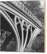 Gothic Bridge Design Wood Print
