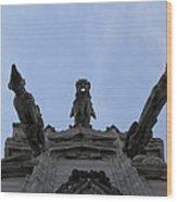 Milan Gothic Cathedral Gargoyles Wood Print