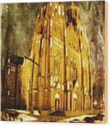 Gothic Cathedral Wood Print