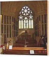 Gothic Church Kylemore Abbey Wood Print
