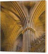 Gothic Impression Wood Print