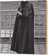 Gothic Miss Wood Print