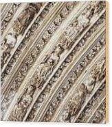 Gothic Splendor Wood Print