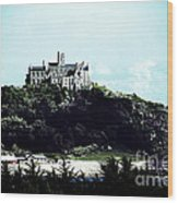 Gothic St Michael's Mount Cornwall Wood Print