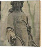 Gothic Stone Wood Print