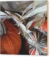 Gourd Geous George Wood Print