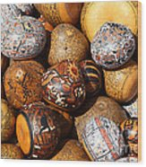 Gourds Galore Wood Print