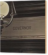 Governor Office Wood Print