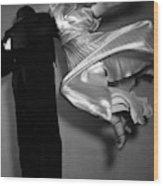 Grace And Paul Hartman Dancing Wood Print