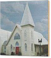Grace Church Wood Print