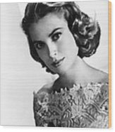 Grace Kelly, Mgm Portrait, Mid-1950s Wood Print