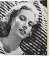 Grace Kelly Wood Print