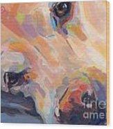 Grace Wood Print by Kimberly Santini