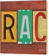Grace License Plate Name Sign Fun Kid Room Decor. Wood Print