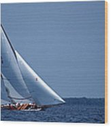 Grace Under Sail Wood Print