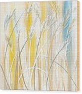 Graceful Grasses Wood Print